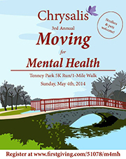 Moving for Mental Health 2014 Logo